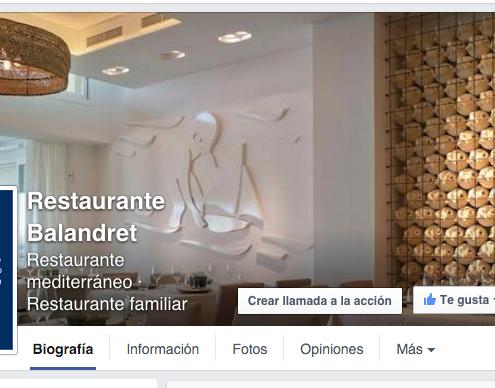 Fanpage Restaurante Balandret