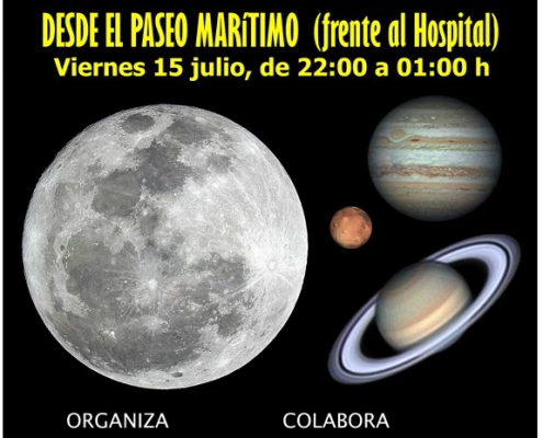 Noche Valenciana astronomía