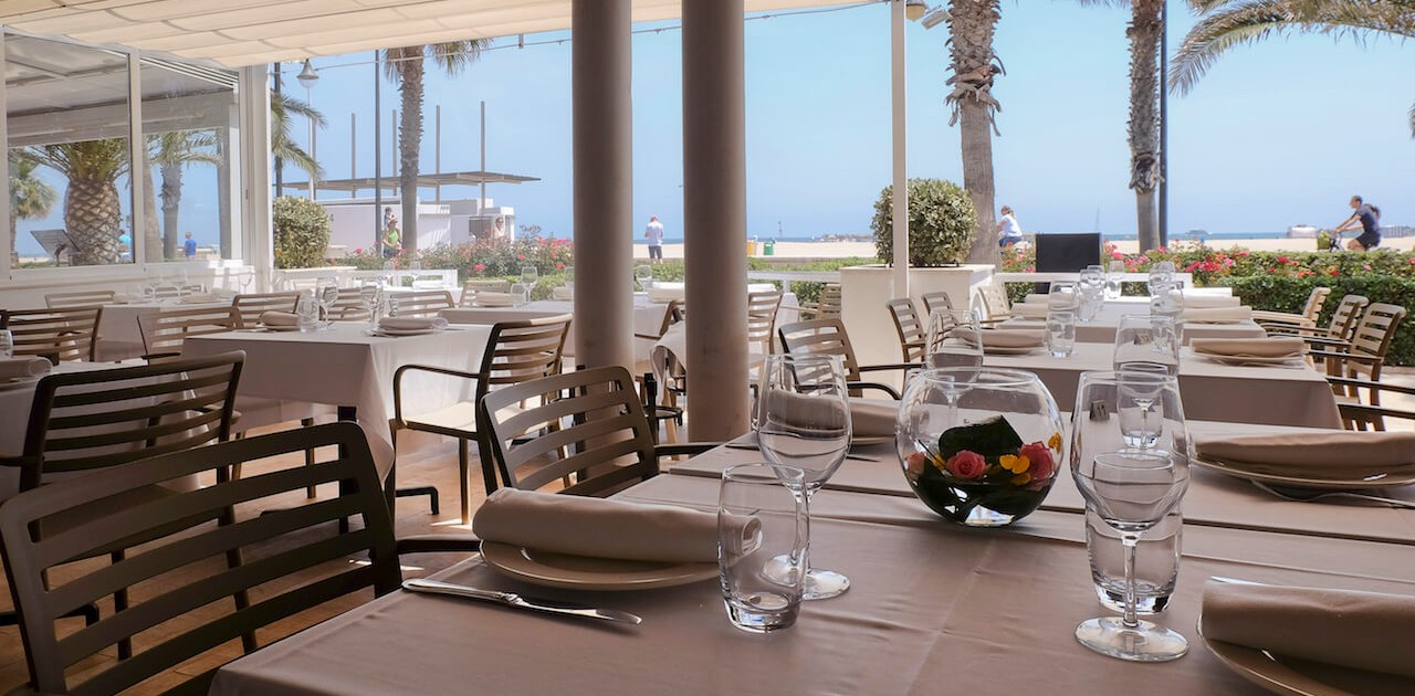 Restaurantes en la Playa Orilla