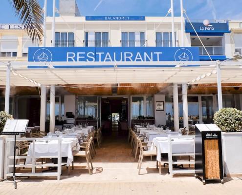 Restaurantes en la Playa Terraza